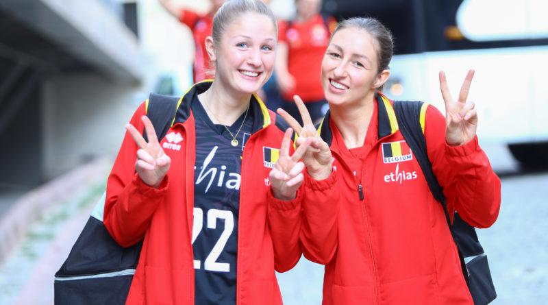 Brazilianen laten zich niet verrassen door Belgian Yellow Tigers