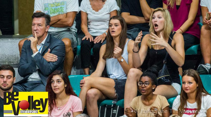 Kaja Grobelna en Britt Herbots zien af in Bologna